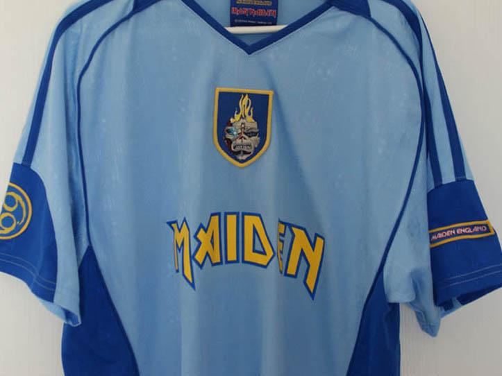iron maiden - 2013 football shirt