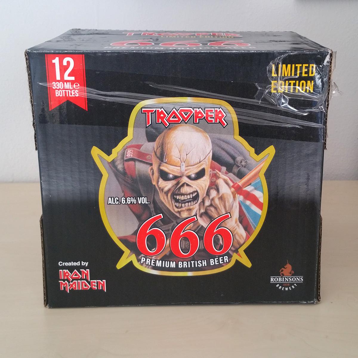 7ada5e88a Iron Maiden - The Trooper 666 Beer 12 Bottles Box - Iron Maiden ...