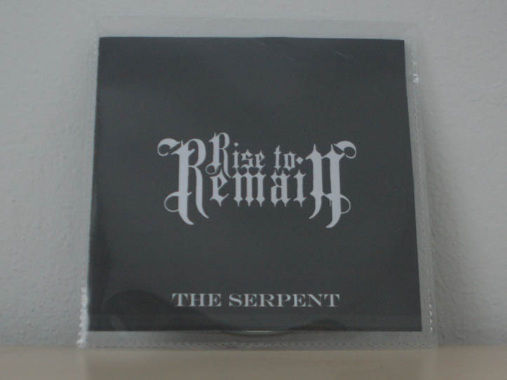 Rise to Remain - The Serpent Promo - Iron Maiden Collector
