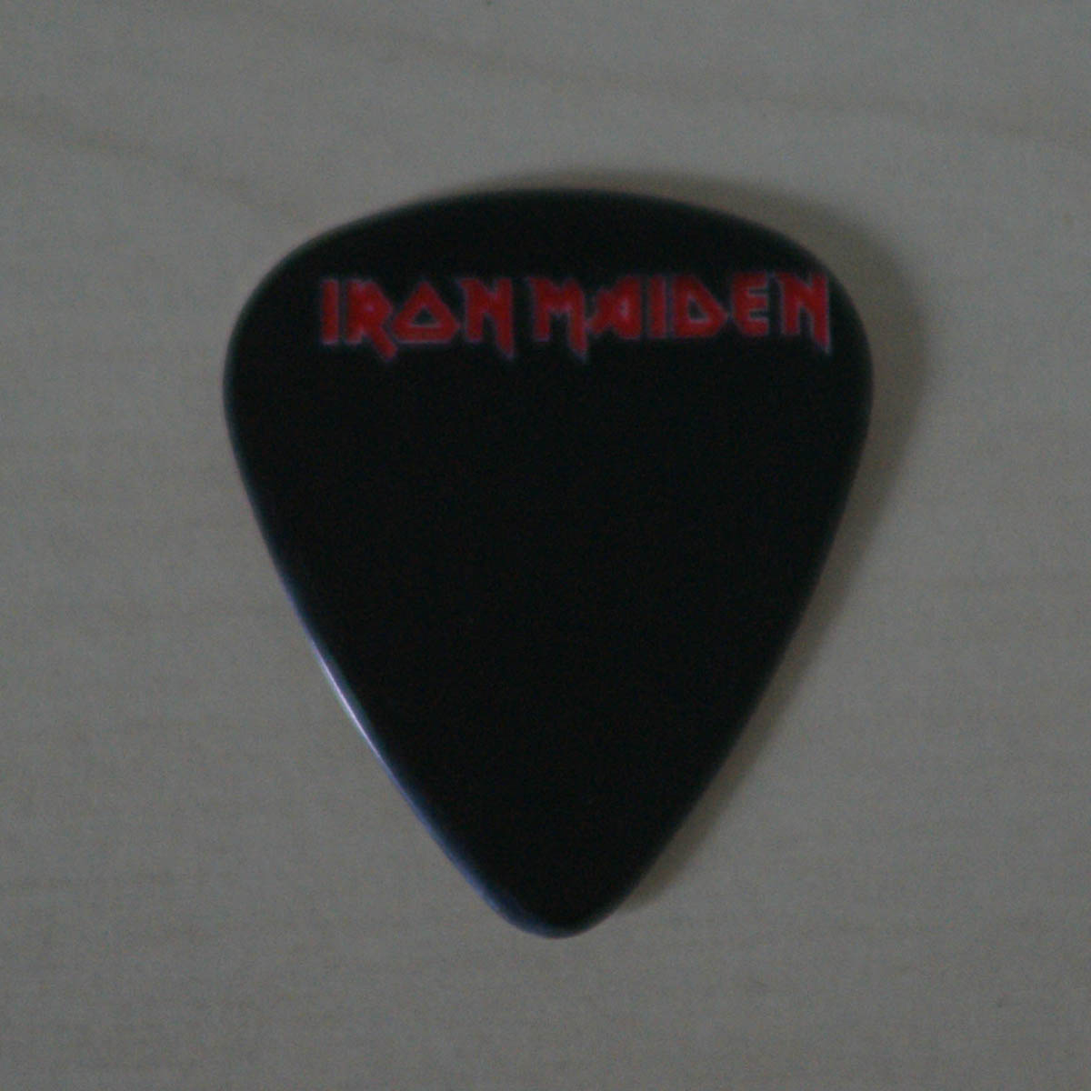 Iron Maiden - Logo Guitar Pick - Iron Maiden Collector