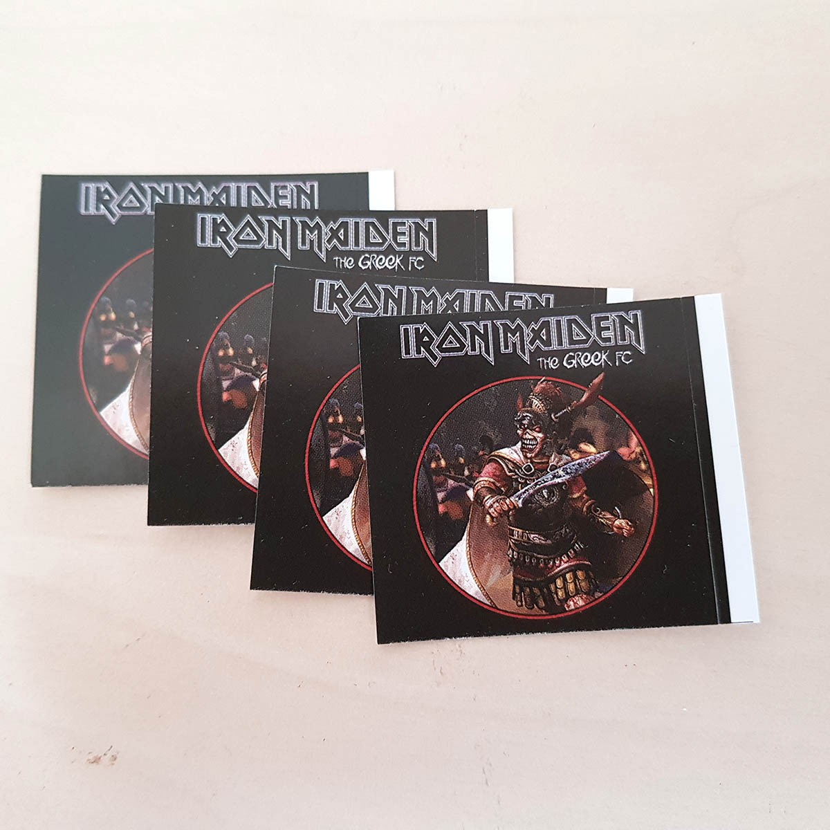 Stickers Iron Maiden Collector